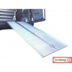 RAMPA DE CARGA PLEGABLE ALUMINIOS 274X72X5cm. CARGA MAX  270Kg